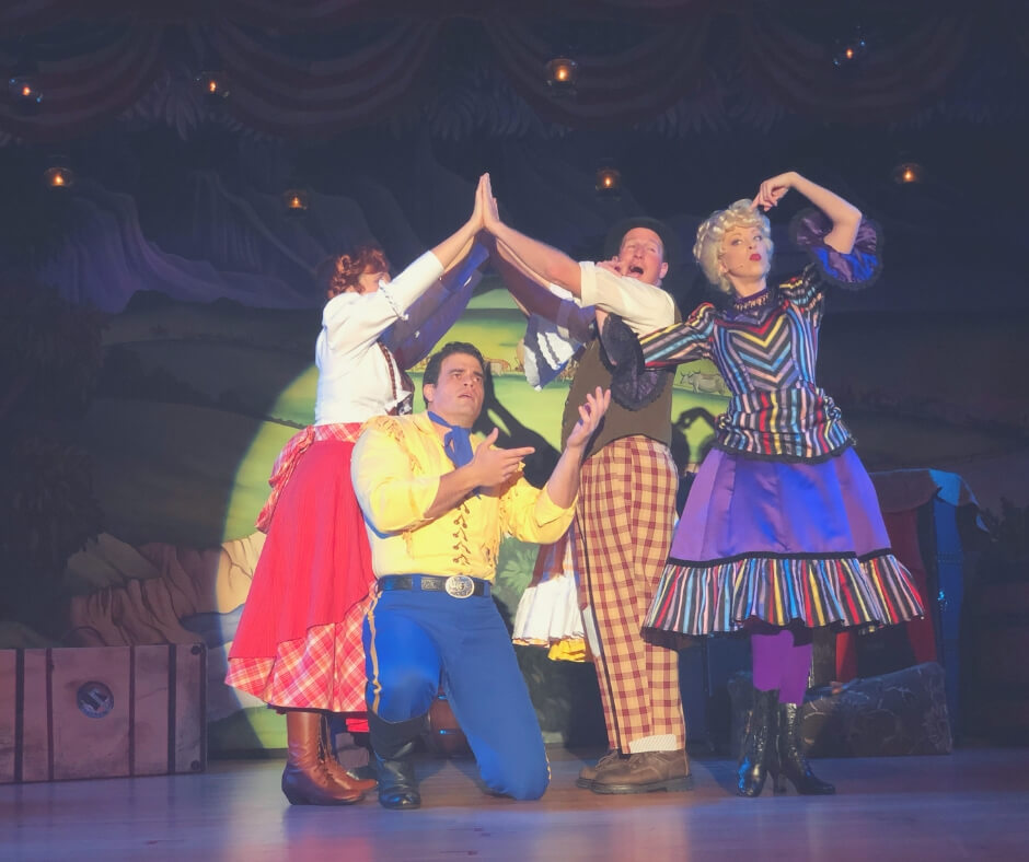 Why Walt Disney World Is Not Just For Kids | The Hoop De Doo Musical Revue will have you in stitches!