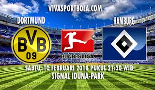 Prediksi Borussia Dortmund vs Hamburg 10 Februari 2018