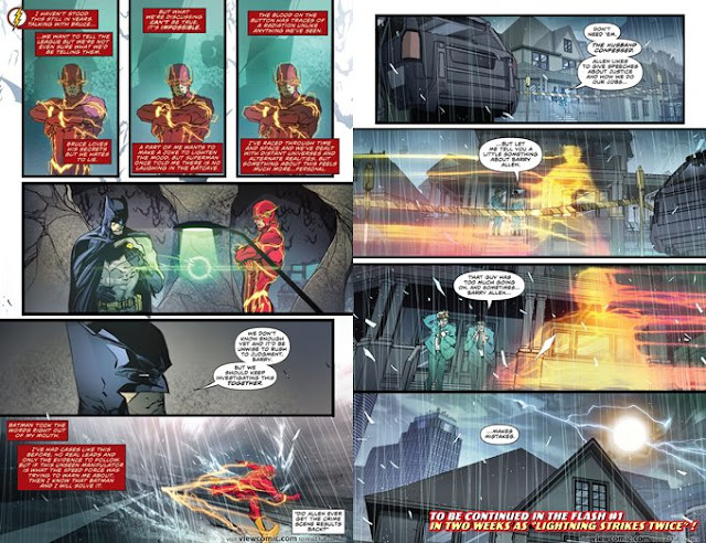Ringkasan Komik The Flash Rebirth #001 (2016)