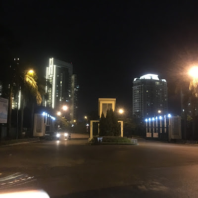 The Link 345 Ciputra Nam Thăng Long về đêm