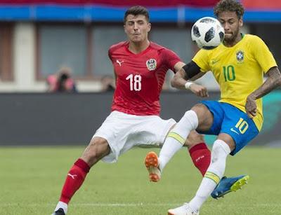 Fifa coloca Brasil entre os favoritos ao título da Copa