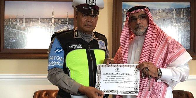 Aiptu Sutisna: Dapat Hadiah Haji Gratis dari Pemerintah Saudi