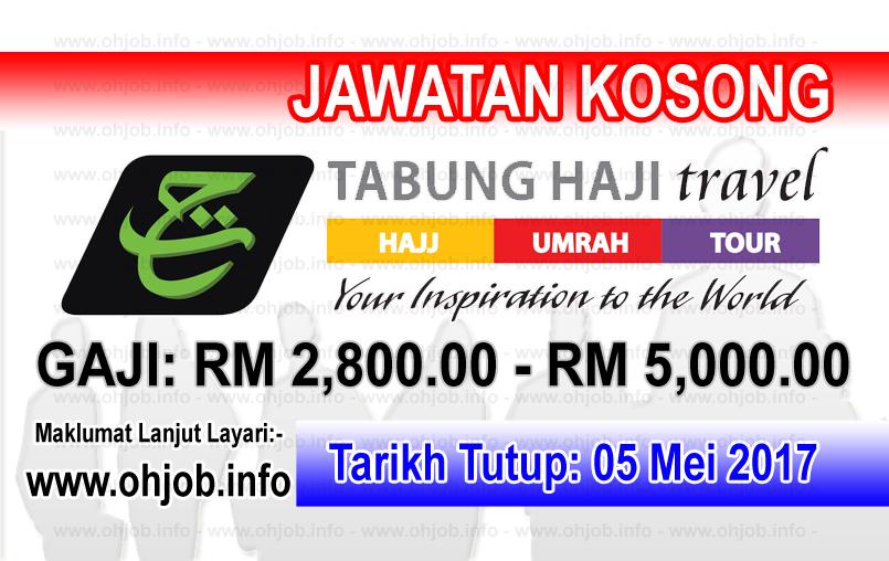 Jawatan Kerja Kosong TH - Tabung Haji Travel & Services logo www.ohjob.info mei 2017