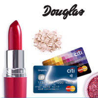 Citibank: darmowa karta kredytowa Citi Simplicity + voucher 400 zł do perfumerii douglas