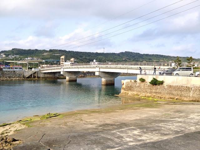 浜ガーラと奥武橋の写真