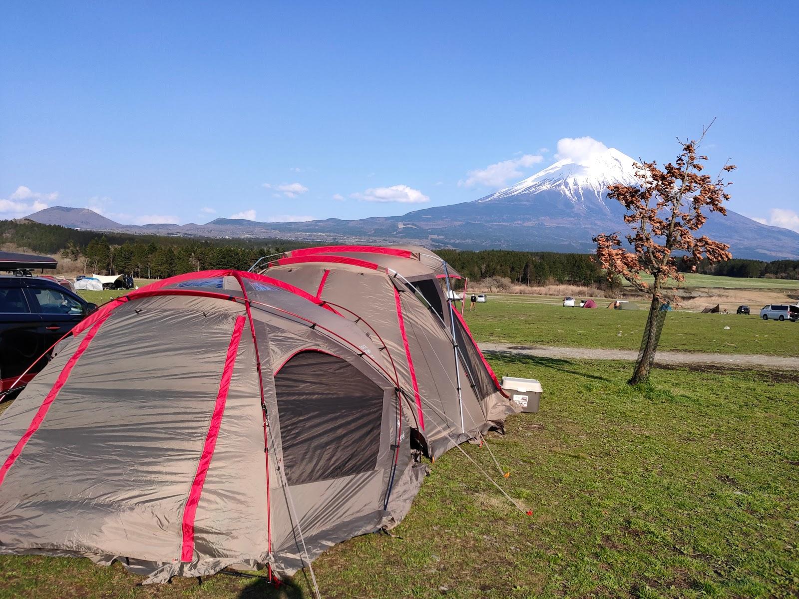 っ キャンプ 天気 ぱら ふもと 場