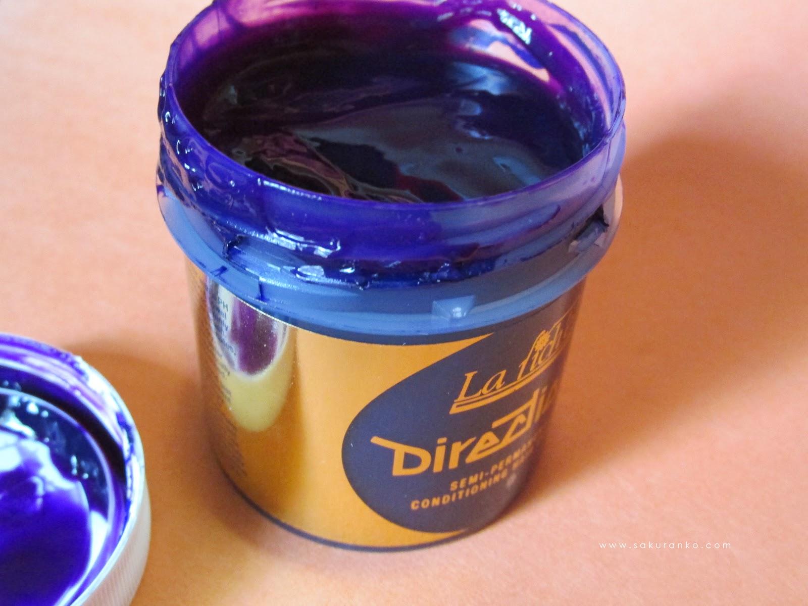 Sakuranko La Riche Directions Semi Permanent Hair Colour Dye Violet