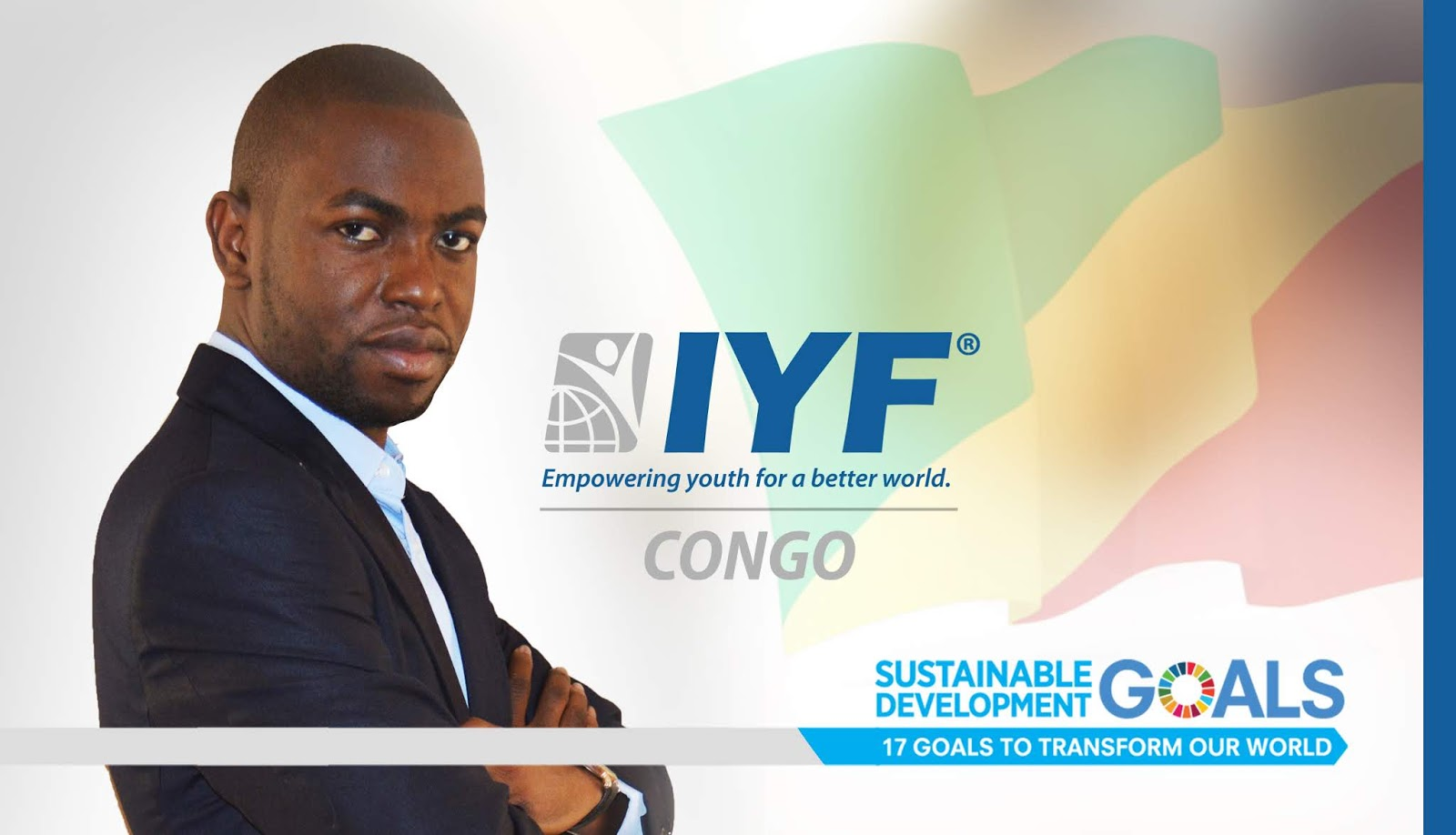 Crys TACKY, IYF Representative in Congo
