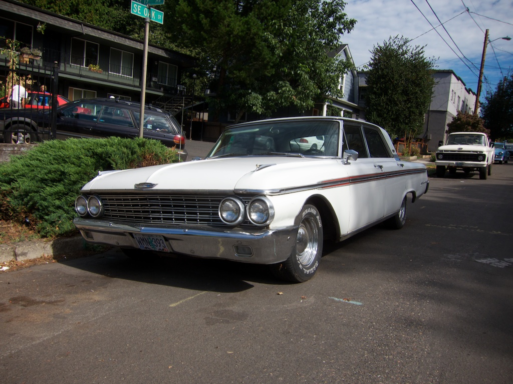 the street peep 1962 ford galaxie 500. Black Bedroom Furniture Sets. Home Design Ideas
