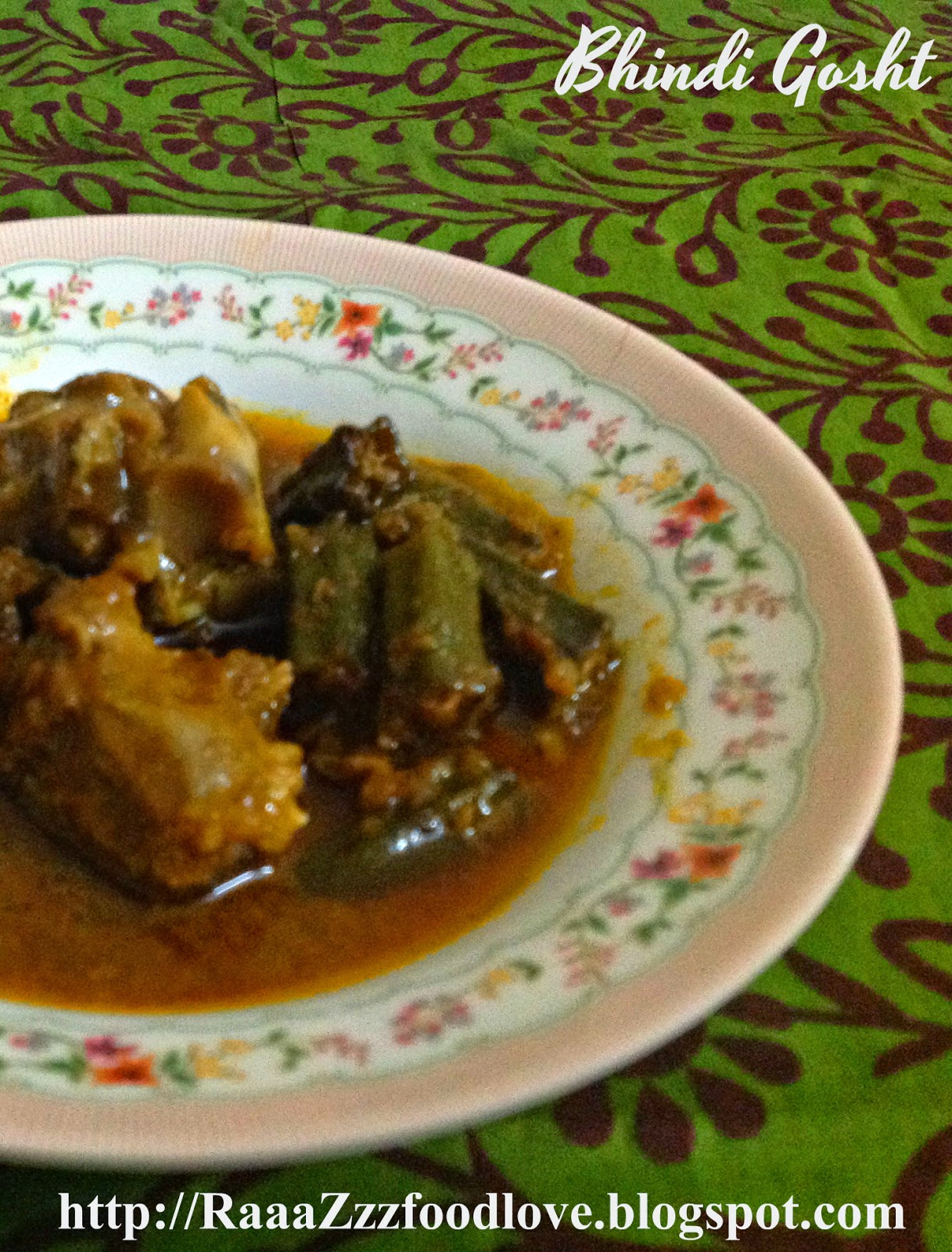 mutton with okras