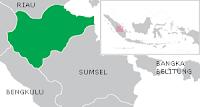Letak Provinsi Jambi