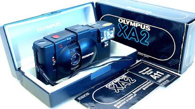 Olympus XA2 (D.Zuiko 35mm f/3.5) #831 Boxed Set