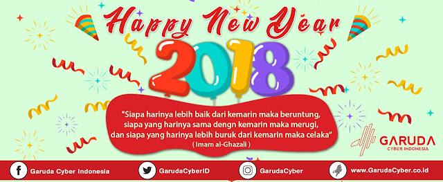 Download Free File PSD JPEG Desain Selamat Tahun Baru 2018