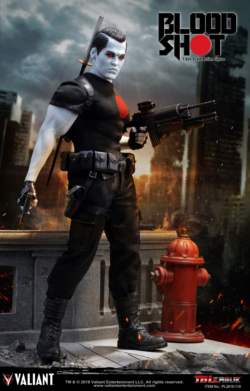 BLOODSHOT 1/6 SCALE ACTION FIGURE