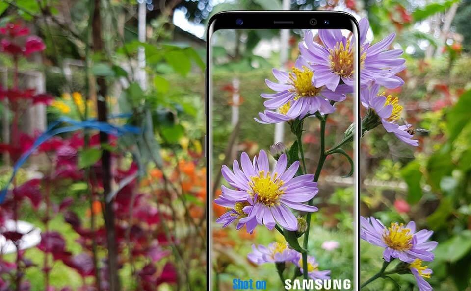 Watermark Langsung Samsung NOTE8 / NOTE FE / S8 / S8+ / J7 PRO / J7 PRIME Tinggal Jepret Gausah Repot Edit!