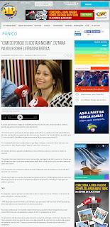Entrevista de Nana Pauvolih para o Programa Pânico no Rádio - Jovem Pan FM