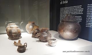 museu palatino Pecas sala romulea - Museu do Palatino de Roma