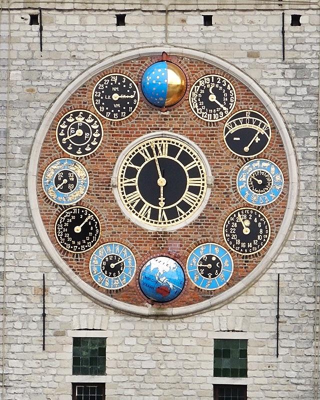 zimmertoren - de klok