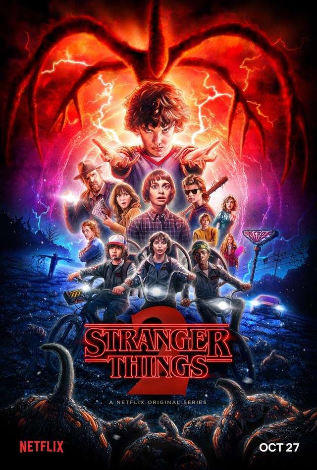 a4db142f6d0  StrangerThings2 Now Streaming on Netflix - Animated Posters