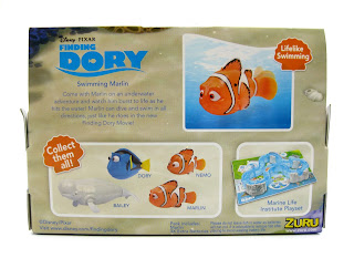 zuru finding dory robo fish marlin toy