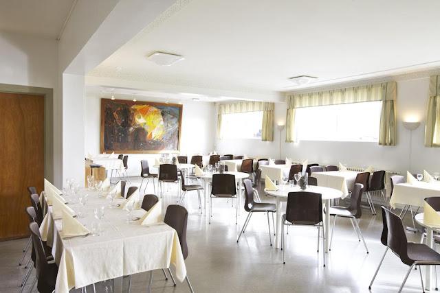 Comedor del Hotel Edda Skogar