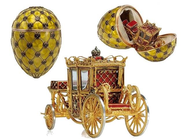Faberge Coronation Egg - Los huevos imperiales de Fabergé: auténticas obras maestras de joyería