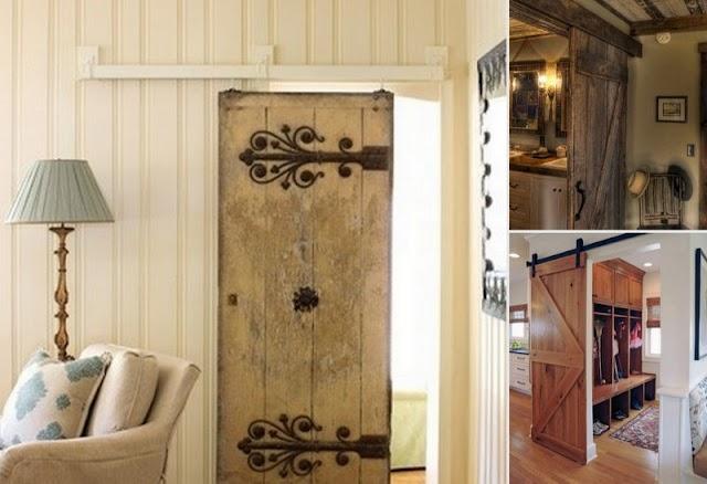 DIY Συρόμενες ξύλινες πόρτες