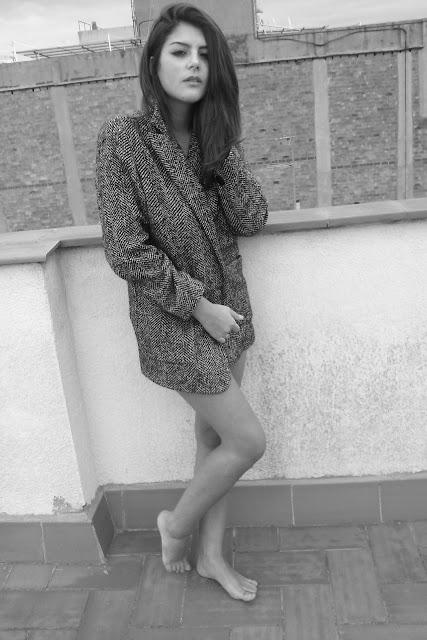Lara abrigo mango