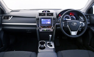 2016 Toyota Camry RZ Review Australia Interior
