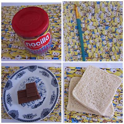 ingredientes bocadillo minions