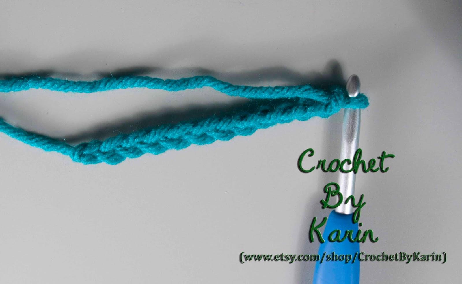 CrochetByKarin: Extended Double Crochet