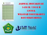 Jadwal Imsyakiyah 1439 H