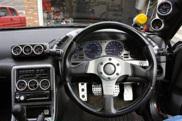 Nissan Skyline R Interior