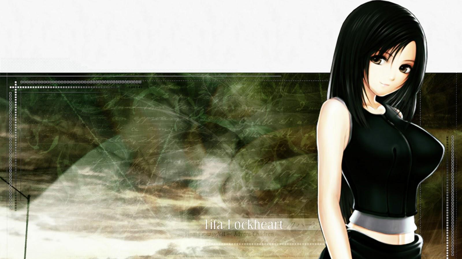 2932x2932 Tifa Lockhart Final Fantasy Artwork Ipad Pro: Final Fantasy Wallpaper
