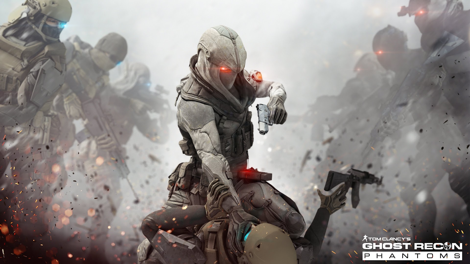 Hd wallpaper 3 tom clancy s endwar online - Tom Clancy S Ghost Recon Phantoms In The 3rd 4k Wallpaper Optimized For Apply In Any Tablet And Desktop Background