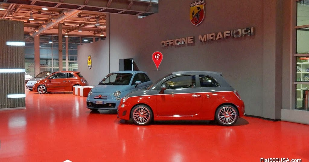 Tour Abarth Via Google Street View Fiat 500 Usa