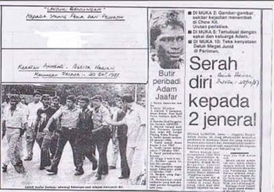 Tragedi Amukan Prebet Adam Di Bandar Chow Kit, Kuala Lumpur. Apa Sebenarnya Yang Berlaku?