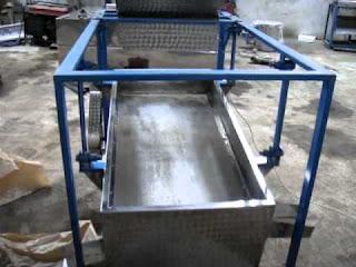 mesin pengayak pasir sederhana