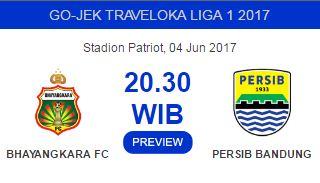 Prediksi Bhayangkara FC vs Persib Bandung 4 Juni 2017