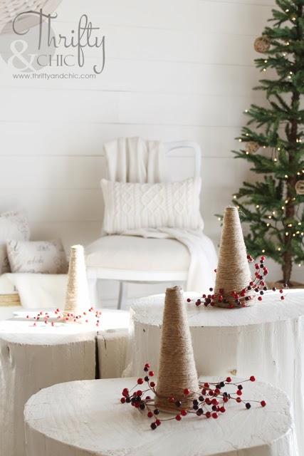DIY黄麻圣诞树