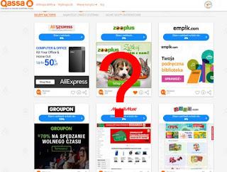 Qassa — otrzymuj prowizję (Cashback) za zakupy internetowe