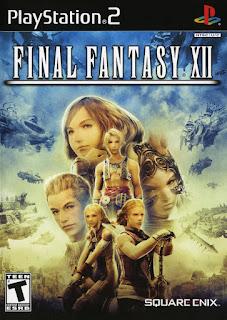 Carátula del videojuego Final Fantasy XII PlayStation 2, 2006