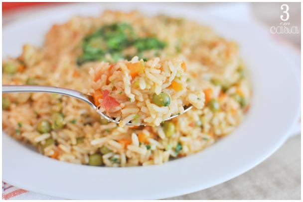 arroz mexicano como fazer