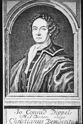 يوهان كونراد ديبيل (1673-1734) Johann Conrad Dippel