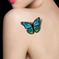 el mejor tatuaje de mariposa