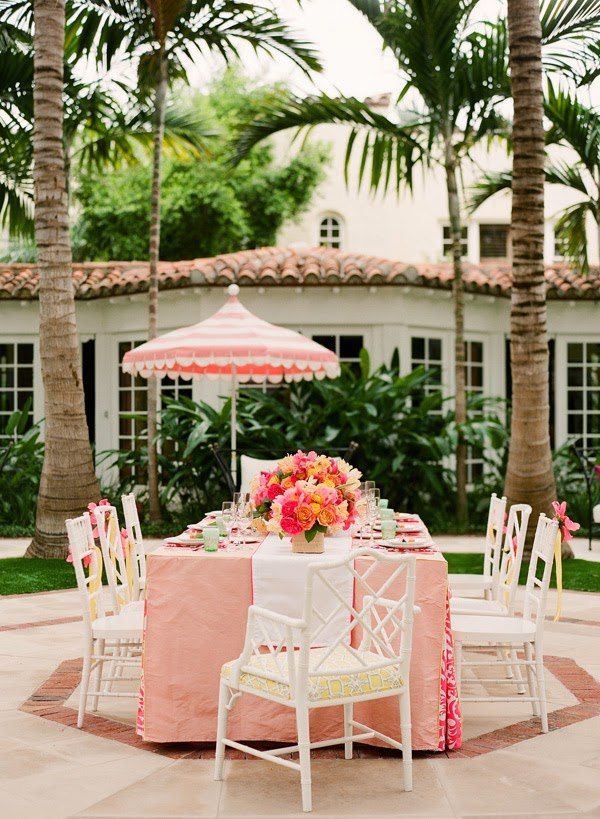 A Lilly Pulitzer Inspired Wedding The Glam Pad