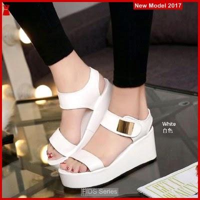 FIDS052 Sandal Wanita Sandal Wedges Wedges Terbaru
