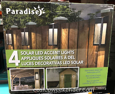 Light up the night with Paradise Northern International Solar LED Accent Post Lights