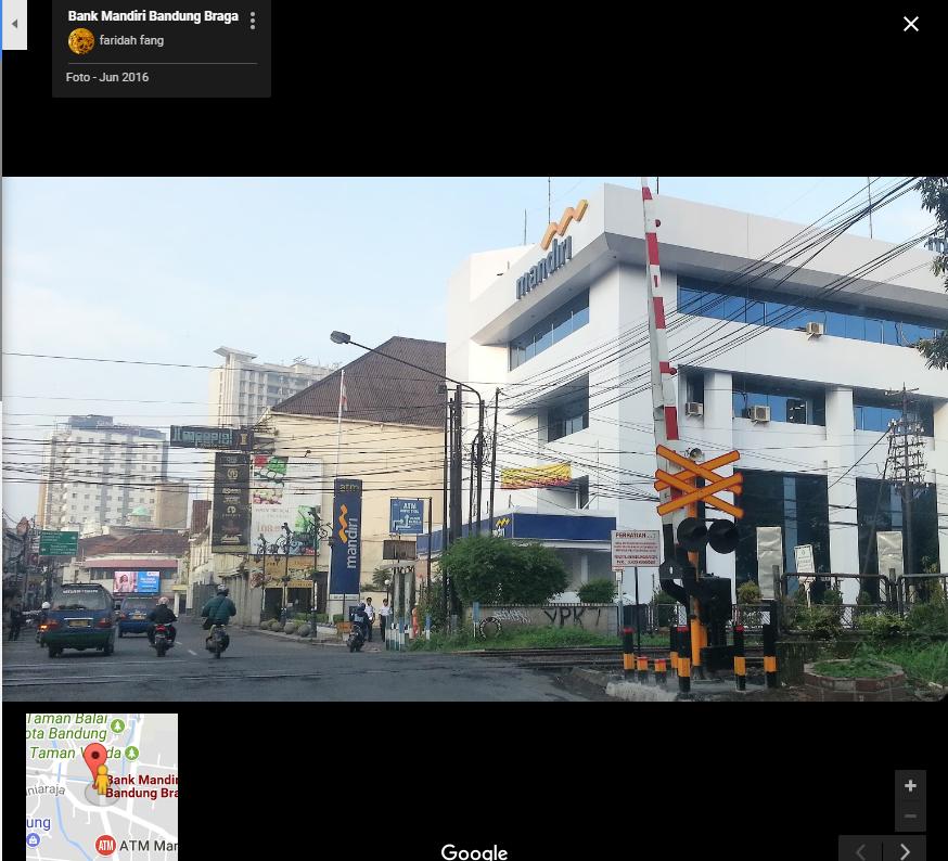 Alamat Bank Mandiri KC Bandung Braga - Alamat Kantor Bank