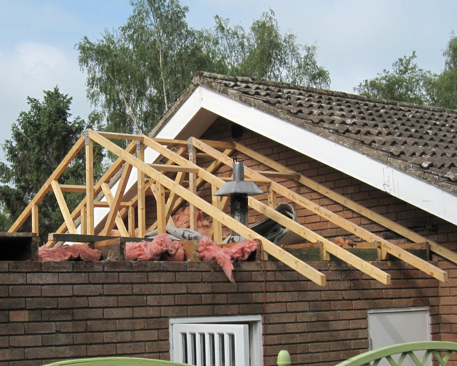 garage roof trusses